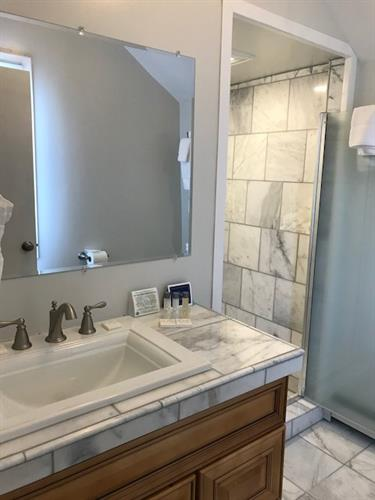 Suite 1 at 256 - Marble Bathroom