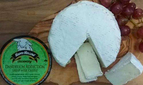 Artisan cheese from Happy Hollow Creamery in Bayfield, WI.