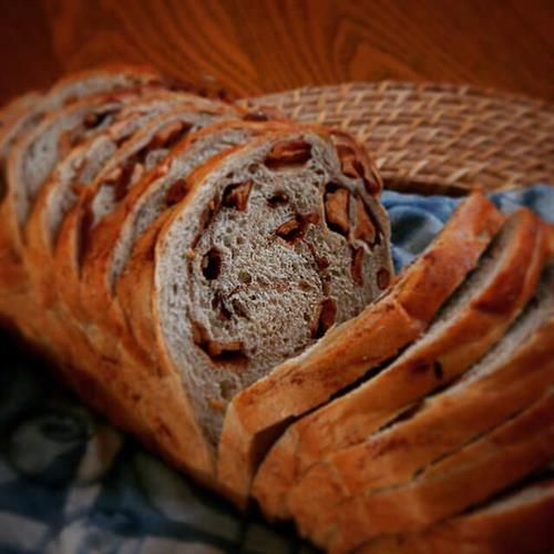 Bayfield Apple Cinnamon bread from Starlit Kitchen in Bayfield, WI uses dried apples from the Bayfield Apple Co. to add real Bayfield flavor to this tasty creation.