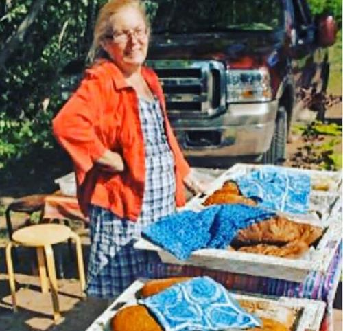 Kathy Presnell of Starlit Kitchen in Bayfield, WI makes wonderful artisan breads.
