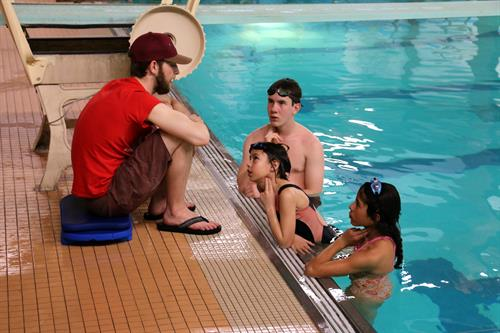 We offer Red Cross Swimming Lessons and Certifications.