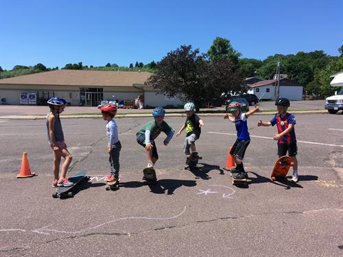 We offer a variety of youth programming including Kids Night Out, Skate Camp and Gym Buddies!