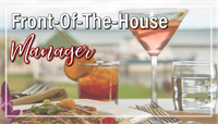 Front-Of-The-House Manager
