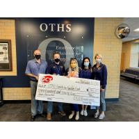 GCS EMPLOYEES DONATE $735 TO OTHS FAMILY FOR FAMILIES FUND