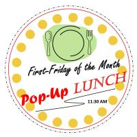 March 6, 2020 Pop Up Lunch