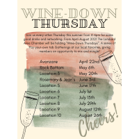 Wine-Down Thursdays