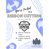 All Day Fitness Ribbon Cutting