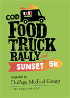 College of DuPage Food Truck Rally & Sunset 5K