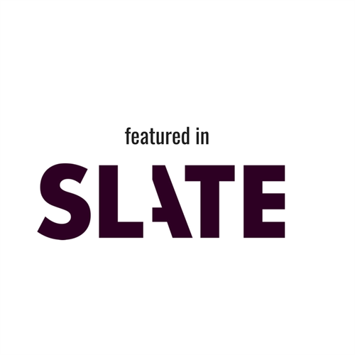 We've been featured in Slate.