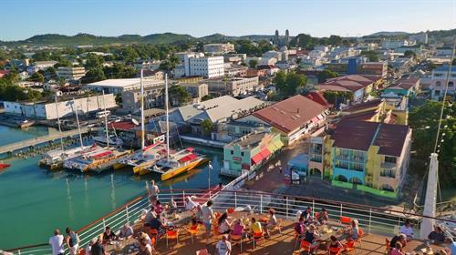 Antigua Cruise Dock