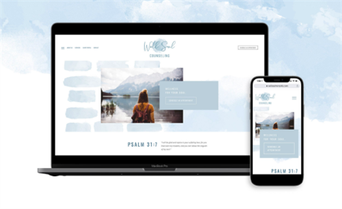 Website Design for Well Soul Counseling