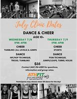 Dance & Cheer Clinic