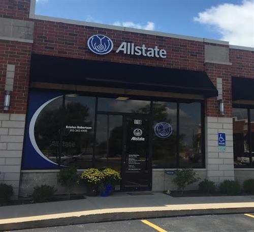 Allstate Insurance: Kristen Robertson, 16108 S. Rte. 59, Ste. 118, Plainfield, IL 60586