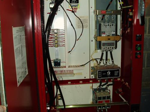 Upgraded electrical installation for fire pump system