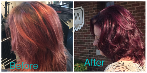Customized Hair Color *  No Ammonia, No Peroxide, No PPD's or Recorcinol.  Shiny Healthy Hair