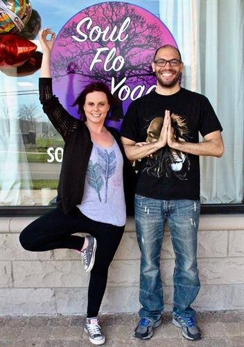 Melissa and Jason - Owners of Sou Flo Yoga