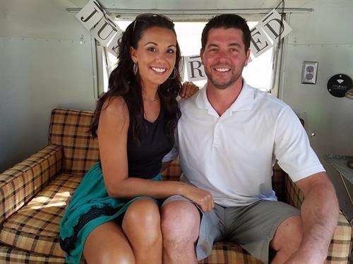 Owners, Rick & Jillian
