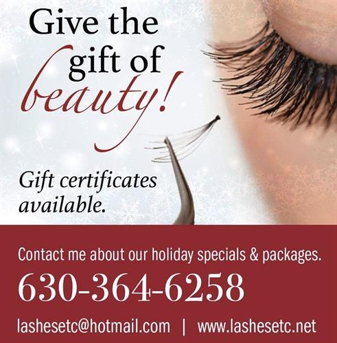 Contact for current specials!