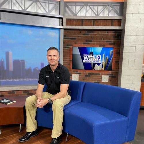 CoachAdam34 & The Extraordinary Me Program on WGN News