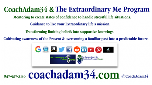 CoachAdam34 & The Extraordinary Me Mentoring Program