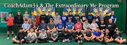 CoachAdam34 & The Extraordinary Me Program at Fastball USA
