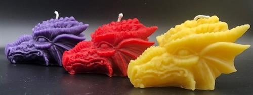 Dragon Beeswax Candles
