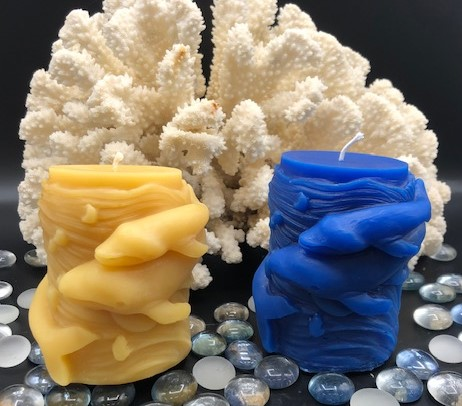 Whale Beeswax Candles