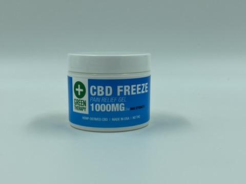 1000MG CBD Freeze Pain Relief Gel