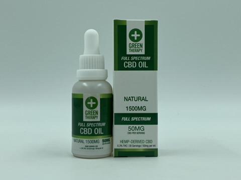 Full Spectrum 1500MG Natural CBD Oil