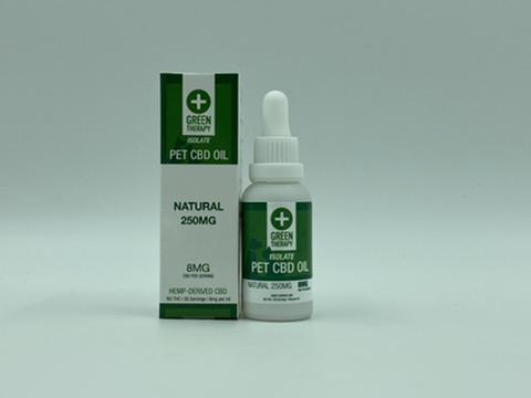 250MG CBD Natural Pet Oil