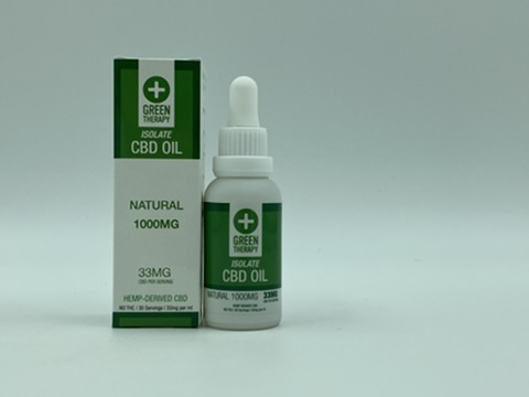 Isolate 1000MG Natural CBD Oil
