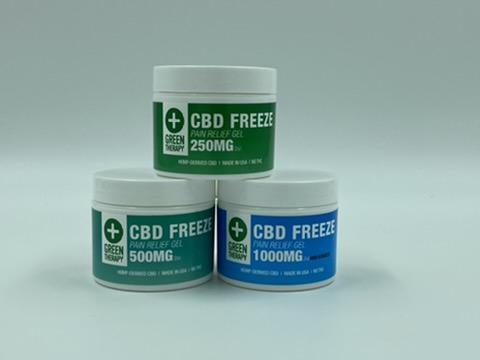 CBD Freeze Pain Relief Gel