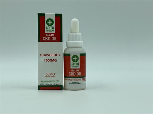 Isolate 1500MG Strawberry CBD Oil