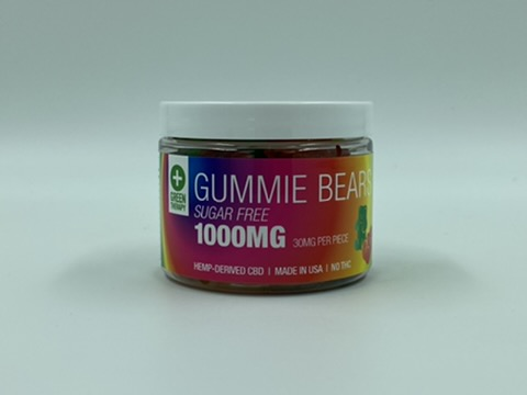 1000MG Sugar Free CBD Gummie Bears