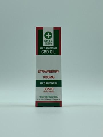 Full Spectrum 1000MG Strawberry CBD Oil