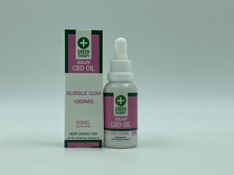 Isolate 1500MG Bubble Gum CBD Oil