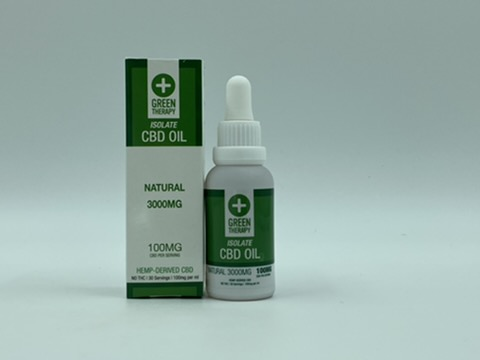 Isolate 3000MG Natural CBD Oil