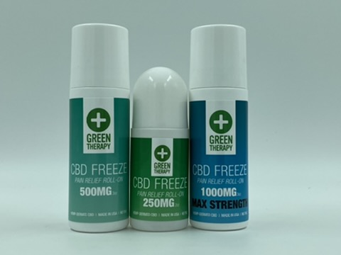 CBD Freeze Pain Relief Roll On Variety