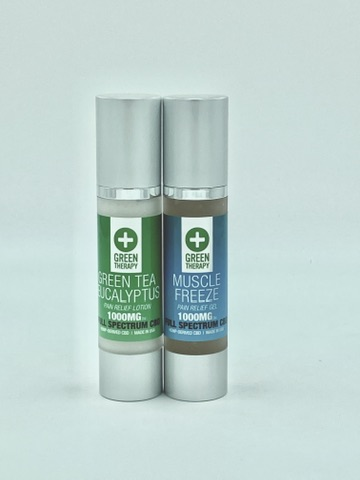 Full Spectrum 1000MG CBD Lotion and Muscle Freeze