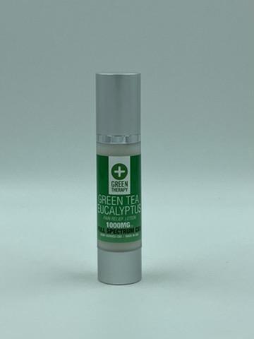 Full Spectrum 1000MG Green Tea Eucalyptus CBD Lotion