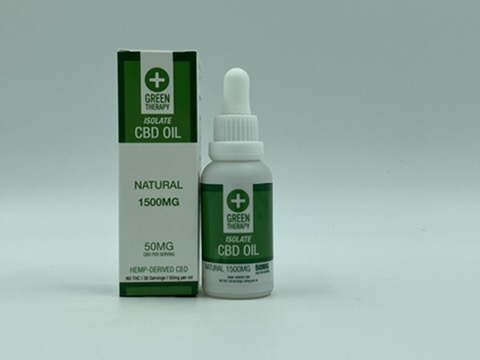 Isolate 1500MG Natural CBD Oil