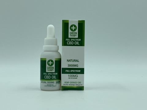 Full Spectrum 3000MG Natural CBD Oil