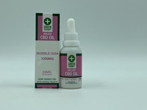 Isolate 1000MG Bubble Gum CBD Oil