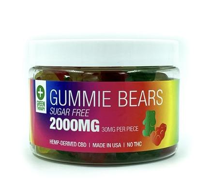 2000MG Sugar Free CBD Gummie Bears