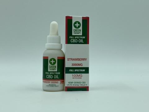 Full Spectrum 3000MG Strawberry CBD Oil