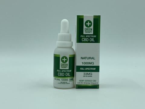 Full Spectrum 1000MG Natural CBD Oil