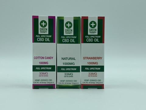 Full Spectrum 1000MG CBD Oil Flavors