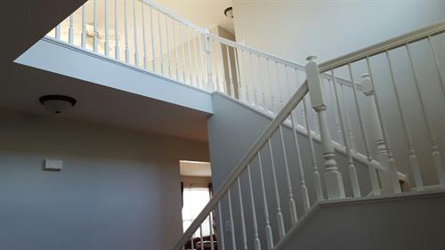Interior - Staircase Painting
