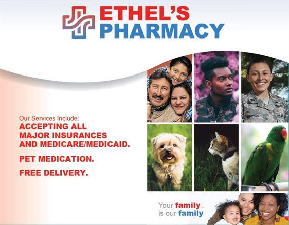 Ethel's Pharmacy began with Dr. Ethel's innate desire to treat those around her who have been afflicted by illness with true compassion and empathy.