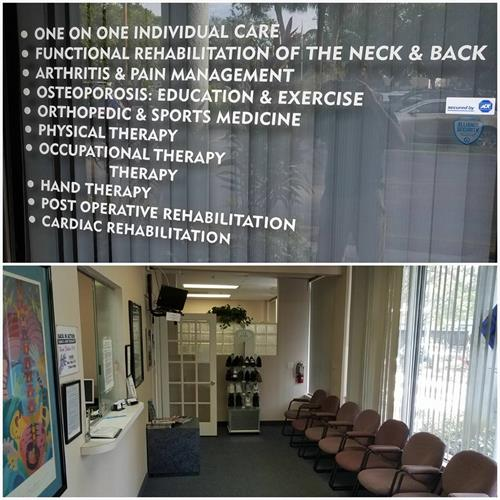Coconut Creek Physical Therapy Office